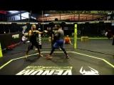Школа бокса Good Old Boxing - Отработка техники на лапах-инста-19.06.19