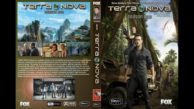 Сериал Терра Нова/Terra Nova 1 сезон 1,2(пилот)3 серия (2011) фантастический сериал.