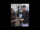 Adam with fans, Odessa, 28.07.2017 (Port of Odessa)