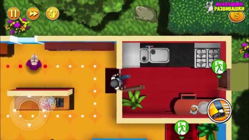 ВОРИШКА БОБ Побег из тюрьмы 1 Мультик игра для детей Robbery Bob мультяшная видео игра