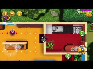 ВОРИШКА БОБ Побег из тюрьмы #1 Мультик игра для детей Robbery Bob мультяшная видео игра