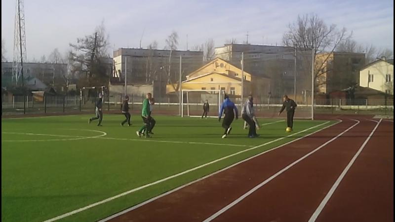 футбол в Новой Ладоге