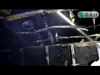 Жилой дом в Донецке превратился в пепелище после обстрелов ВСУ ФАН публикует видео