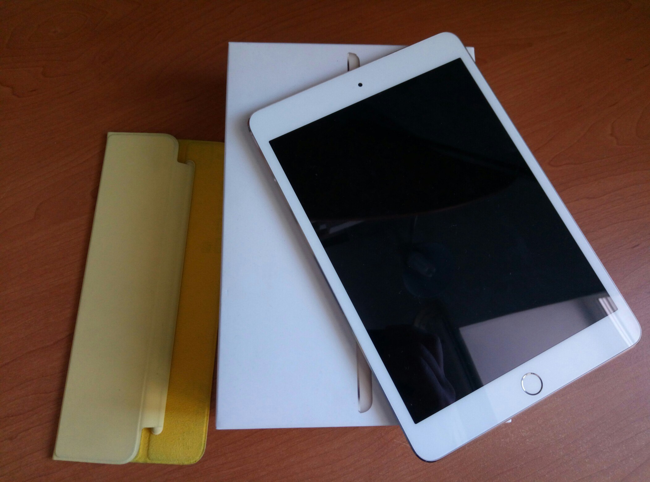 iPad mini 3 (retina + touch iD) 16gb Gold