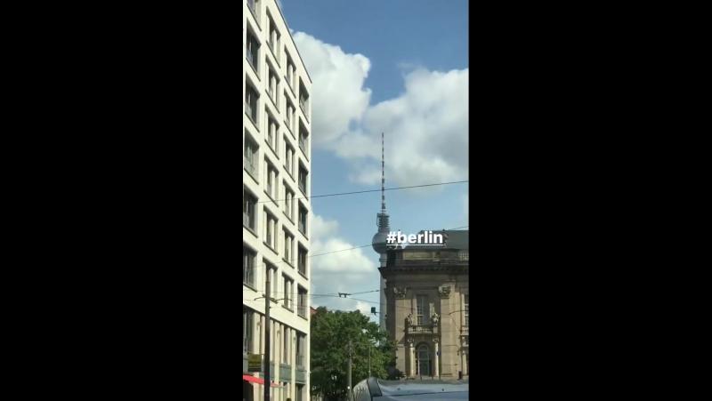 Gustav Schäfer Instagram Stories (20.08.2017): Берлин