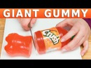 How to a Make Giant Gummy Cola Bottle Coca Cola Crush Sprite Rootbeer from Cupcakes and Cardio