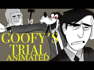 GOOFY'S TRIAL ANIMATED