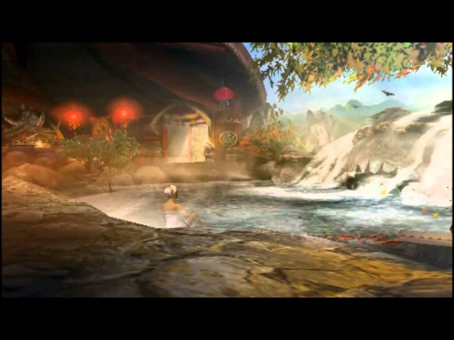 Monster Hunter Portable 3rd / 3 Yukumo Village Guild Hall Hot Springs intro HD [ MHP3 / MHP3rd ]