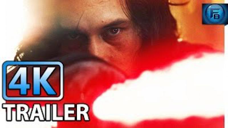 STAR WARS THE LAST JEDI Trailer (2017)   4K ULTRA HD   Daisy Ridley, John Boyega, Adam Driver