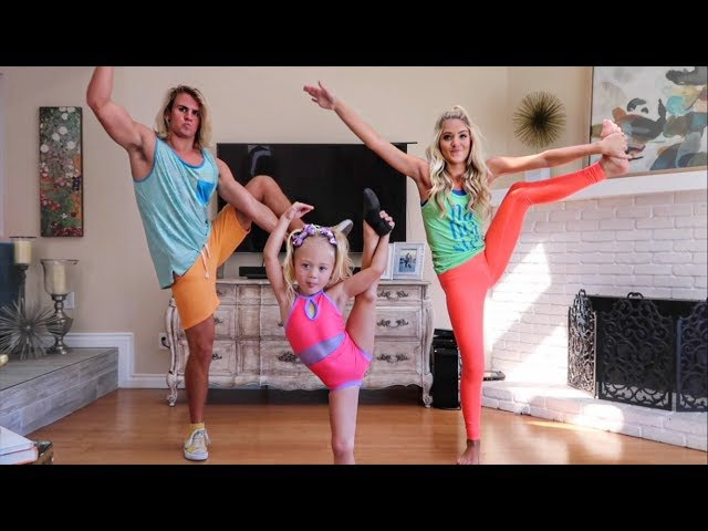 HILARIOUS DANCE CLASS WITH 4 YEAR OLD EVERLEIGH (IMPOSSIBLE)