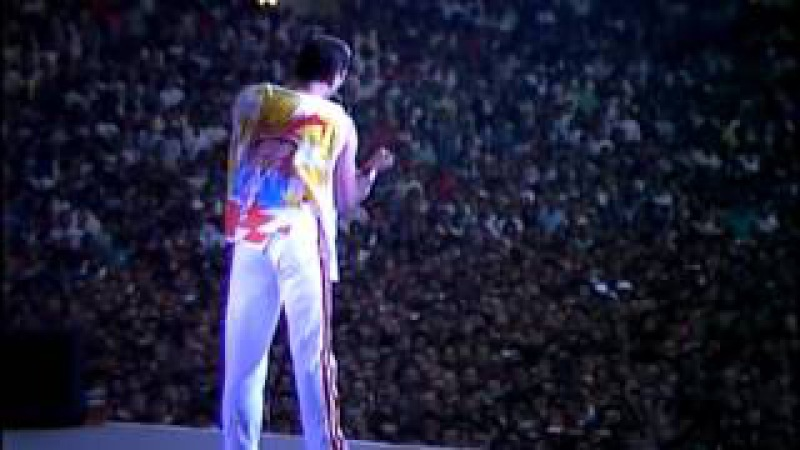 Queen - Love of my life Is this the world we created (Live at Wembley)