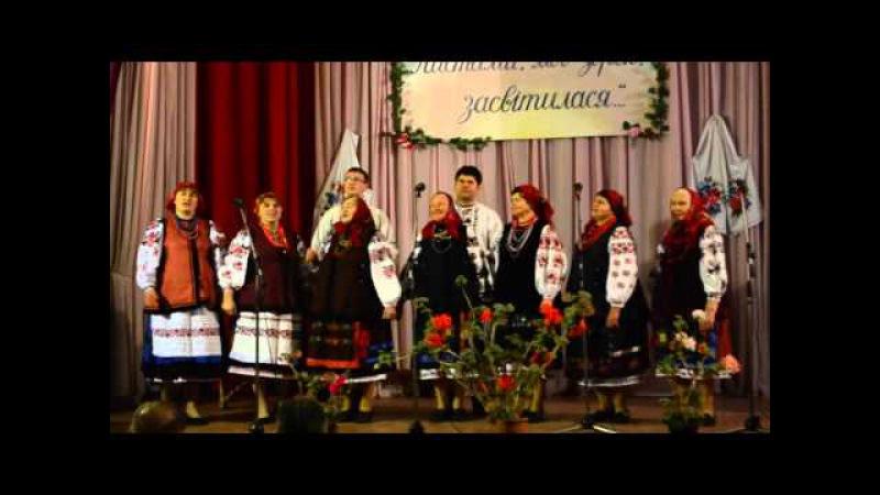 Співає фольклорний колектив Мальви с Макіївка Носівського р ну Чернігівської