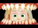 Машу поймала САМАЯ СТРАШНАЯ ВЕДЬМА! Мультфильм ужасов. Мама Барби, Маша и медведь. куклы barbie ужасы ужастик horror страшилки