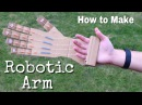 How to Make a Robotic Arm at Home out of Cardboard