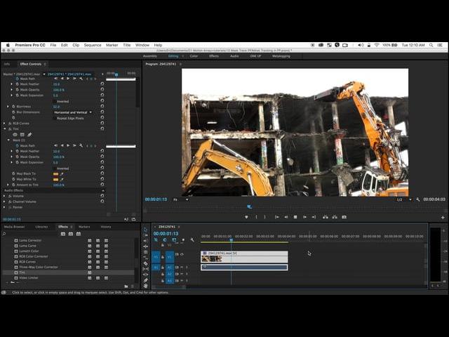 Premiere Pro Mask Tracker Tutorial