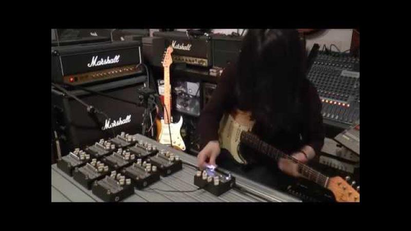 Downy/unkie Yutaka Aoki signature overdrive preamp 青木裕 Naked Machine - RAT1 TS9
