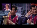 lazytowns we are number one x david bowies meme/meme school (short)