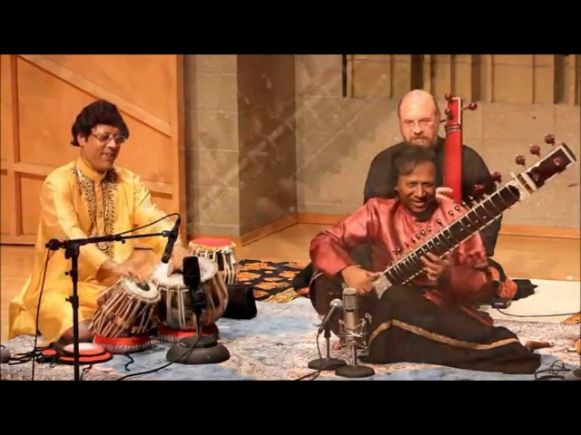 Ustad Shahid Parvez Khan Pandit Anindo Chatterjee - Dhun - Legends of India 2014