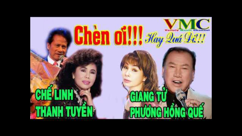 Chế Linh - Thanh Tuyền - Giang Tử - Phương Hồng Quế | Những Ca Khúc Nhạc Vàng Hải Ngoại Bất Hủ