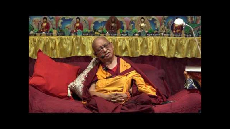 Лама Сопа Ринпоче. Счастливая смерть и удачное перерождение
