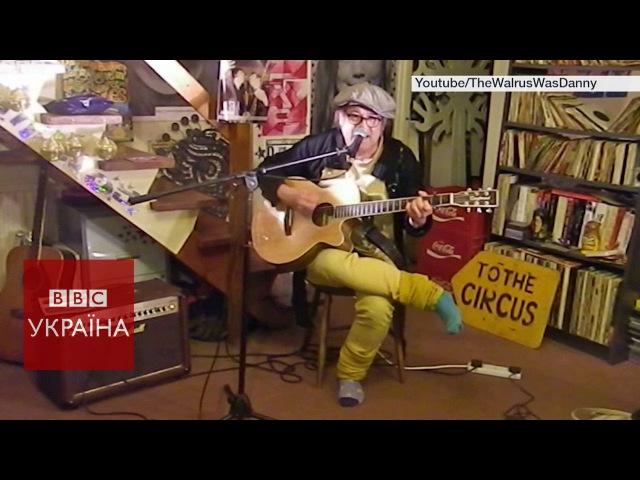 Британець переспівав пісню від України на Євробаченні
