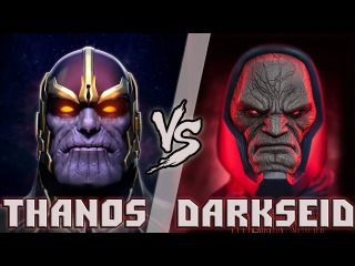 Танос vs Дарксайд / Thanos vs Darkseid - Кто кого? [bezdarno]