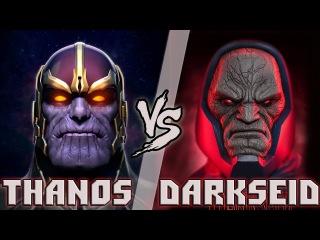 Танос vs Дарксайд / Thanos vs Darkseid - Кто кого? [bezdarno]