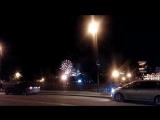 Ночной Тбилиси. фейерверк