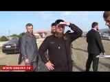 Рамзан Кадыров проверил ход строительных работ в поселке Ойсхара