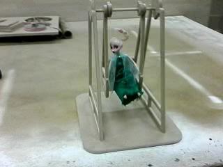 Качели для куклы от 3D Столярка
