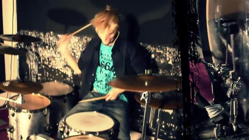 Drumming Washing Machine - Morris Drum Cover (1080p) стиральная драм-машина cover