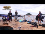 170113 Jin @ Law of The Jungle in Kota Manado unreleased video