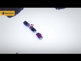 Мотобуксировщики Baltmotors на зимней рыбалке
