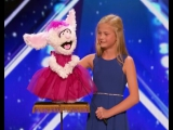No words... this girl is Incredible ❤️ Extraordinary - Darci Lynne -Golden Buzzer-