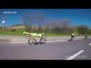Как надо побеждать в велогонках!