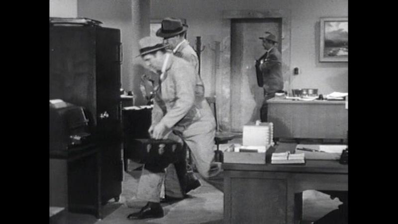 Атомный человек против Супермена. 1950. 2 серия