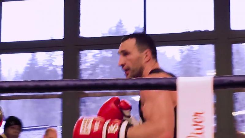 Wladimir Klitschko im Trainingscamp für den Kampf vs. Anthony Joshua