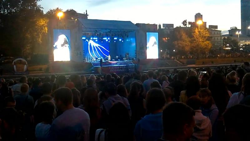 Вечер дня рождения Екатеринбурга. Выступление Сати Казановой
