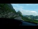 поперли через горы по красивейшей дороге, через горы. Дурмитор, одним словом.
