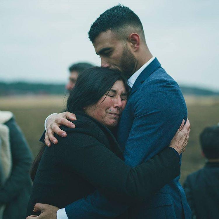 Макван Амирхани с мамой