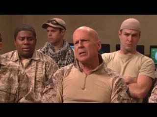 Брюс Уиллис на операции по захвату террористов