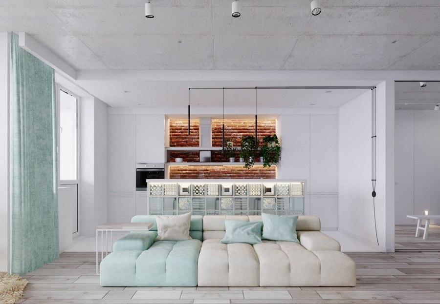 Проект квартиры 61 м.