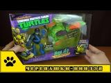 TMNT Nickelodeon / Черепашки-ниндзя от Playmates Toys - Леонардо и трехколесный вездеход