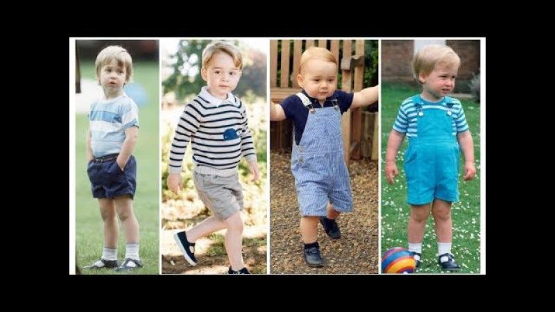 Like father, like son Prince William and Prince George