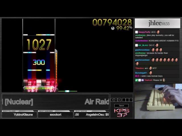 Air Raid Nuclear 1 98 22% osu mania