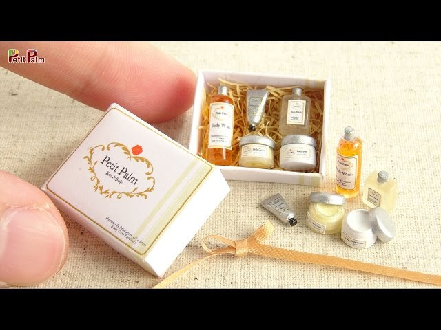 Miniature Body Care Products DIY - Petit Palm