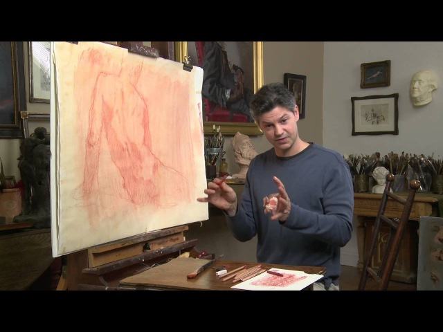 Red Chalk Working Large with Robert Liberace Excerpts from the DVD