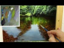 44 How To Paint A Shallow River | Oil Painting Tutorial