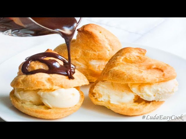 [BÁNH SU KEM] làm BánhSuKem kiểu Pháp Профитроли French Profiteroles recipes học làm bánh SUKEM