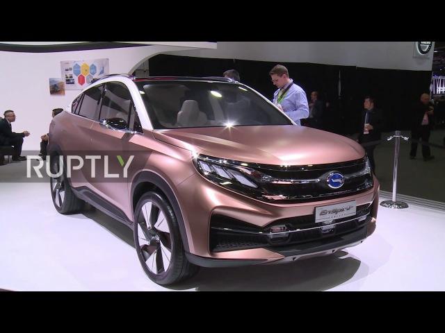 USA GAC unveil new models for global market at NAIAS, Detroit